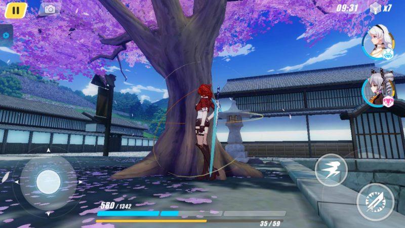 崩坏3-八重村-樱花树