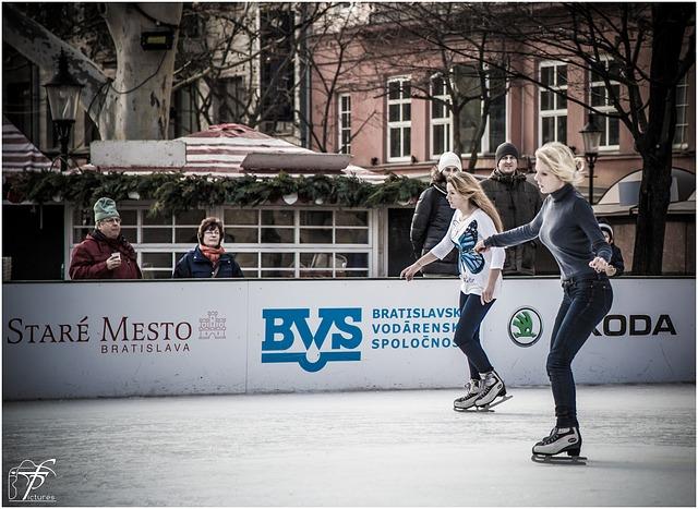 你会滑冰么?